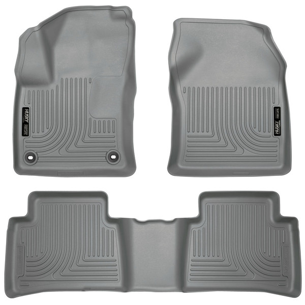 2016 Prius Husky Liners in Grey