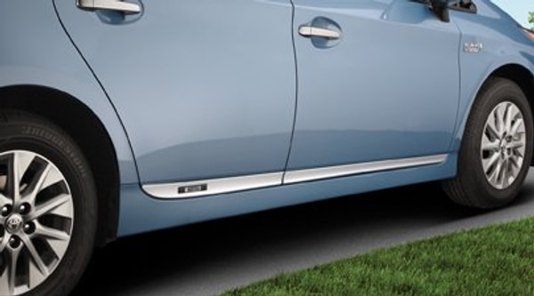 Lower Rocker Moldings for 2012-2015 Toyota Prius Plug-in