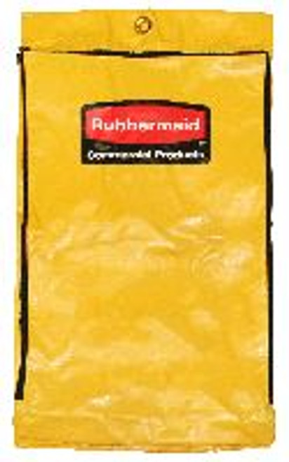 RCP6183YEL | Zippered Vinyl Cleaning Cart Bag
