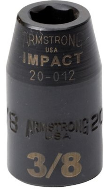 """069-47-015A   Armstrong Tools 1/2"""" Dr. Standard Impact Sockets"""