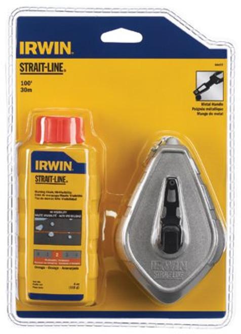 586-64497 | Irwin Strait-Line Aluminum Reel & Chalk Combos
