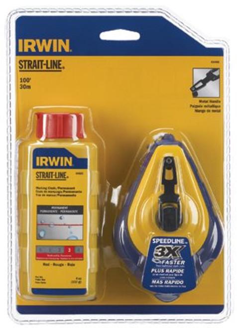 586-64495 | Irwin Strait-Line Speed-Line Reel & Chalk Combos