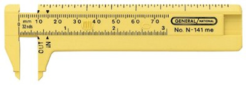 318-141ME | General Tools Pocket Calipers