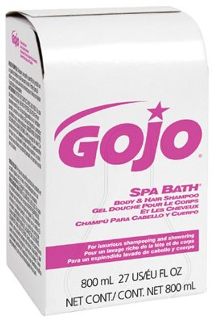 315-9152-12 | Gojo Spa Bath Body & Hair Shampoo