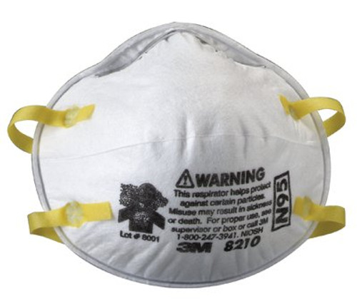 142-8210 | 3M Personal Safety Division N95 Particulate Respirators
