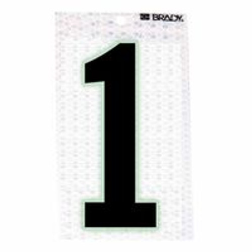 262-3010-1 | Brady Glow-In-The-Dark/Ultra Reflective Numbers