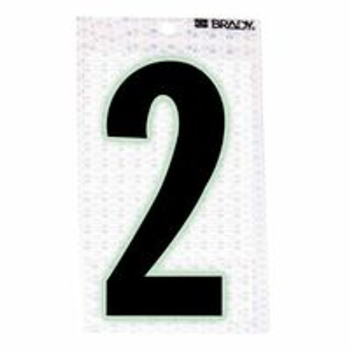 262-3010-2 | Brady Glow-In-The-Dark/Ultra Reflective Numbers