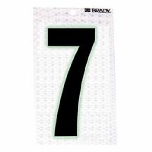 262-3010-7 | Brady Glow-In-The-Dark/Ultra Reflective Numbers