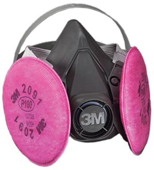 142-6391 | 6000 Series Half Facepiece Respirator Assemblies