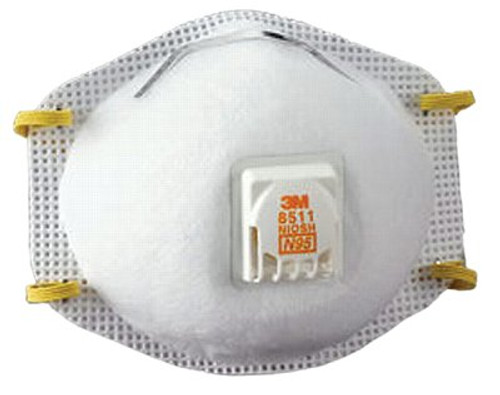 142-8511 | 3M Personal Safety Division N95 Particulate Respirators