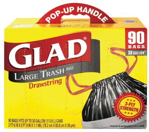 158-70313 | Clorox Glad Drawstring Trash Bags