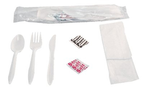 088-6KITMW | Boardwalk Wrapped Cutlery Kits
