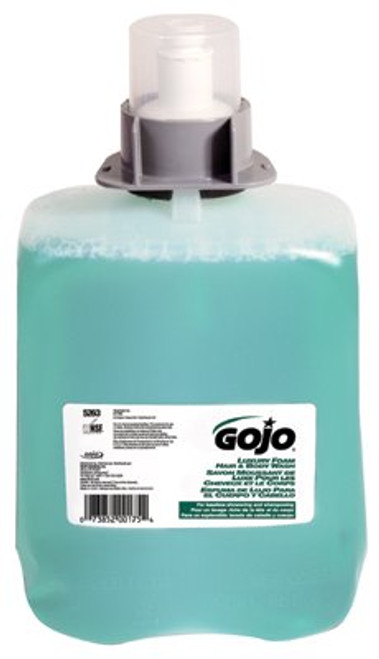 315-5263-02 | Gojo Luxury Foam Hair & Body Wash