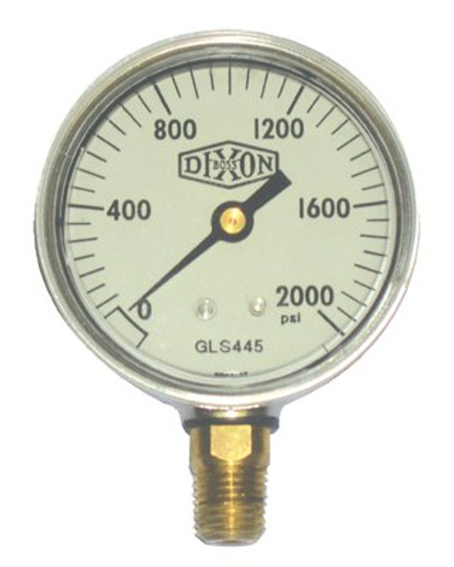 238-GLS445 | Dixon Valve Liquid Filled Gauges