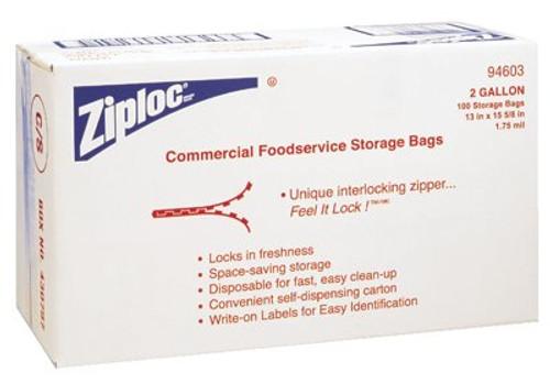 395-94603 | Diversey Ziploc Commercial Resealable Bags