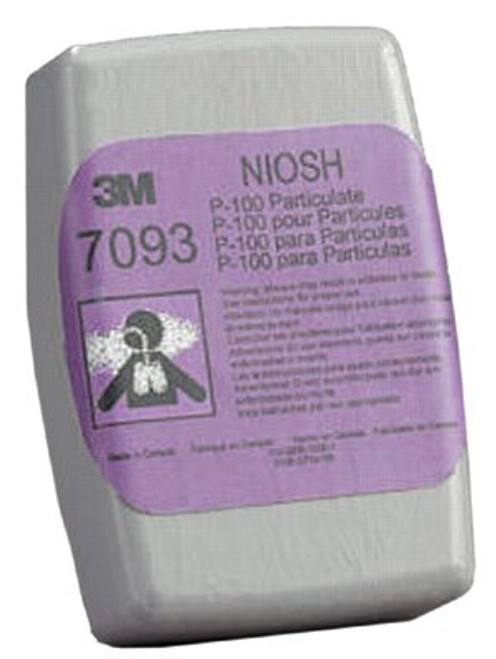 142-7093 | 3M Personal Safety Division Particulate Filters 7093, P100
