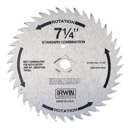 585-11170 | Irwin Steel Circular Saw Blades