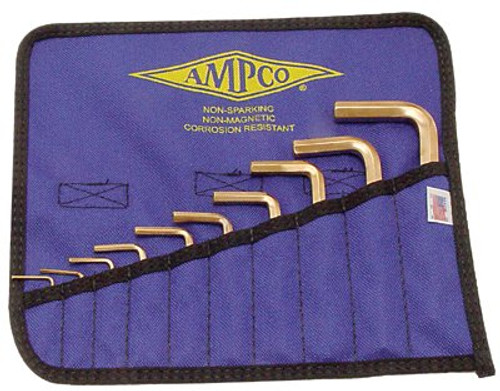 065-M-42 | Ampco Safety Tools 10 Piece Allen Key Sets