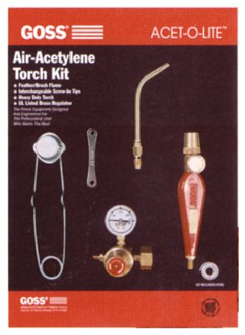 328-KA-1H | Goss Feather Flame Air-Acetylene Torch Outfits