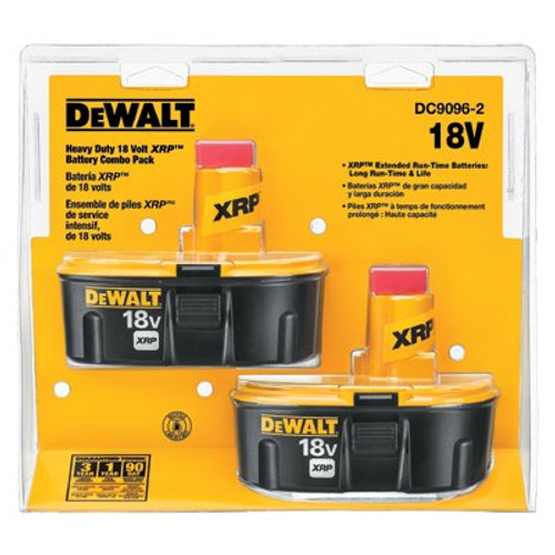 115-DC9096-2 | DeWalt XRP Rechargeable Battery Packs