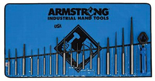 069-70-550 | Armstrong Tools 19 Piece Punch Sets