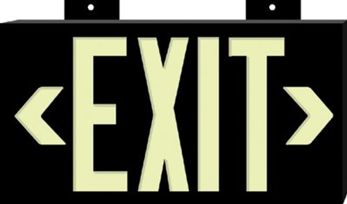 262-38097 | Brady Glo High Performance Glow-In-The-Dark Exit Signs