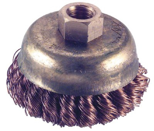 065-CB-60-KT | Ampco Safety Tools Knot Wire Cup Brushes