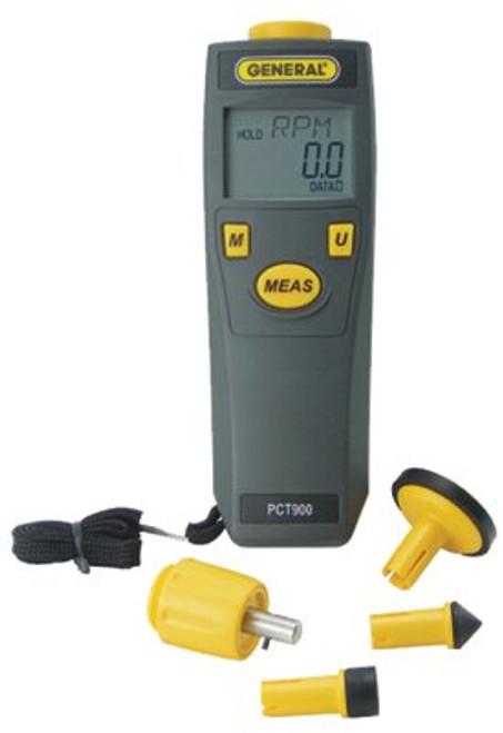 318-PCT900 | General Tools Contact & Non-Contact Tachometers