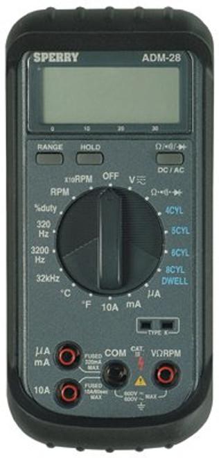 623-ADM-28 | Sperry Instruments Automotive Digital Multimeters