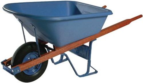 027-MP575FFBB | Ames True Temper Jackson Poly Contractors Wheelbarrows