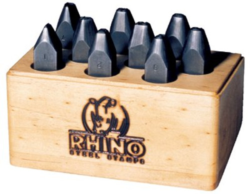 337-21880 | C.H. Hanson Rhino Number Stamp Sets
