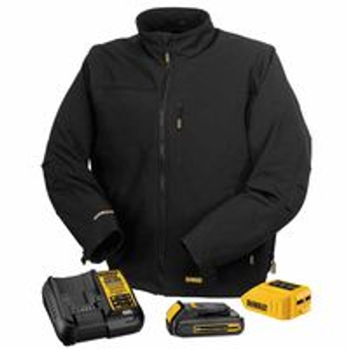 115-DCHJ060C1-3XL | DeWalt 20V/12V MAX* Lithium-Ion Soft Shell Heated Jacket Kit