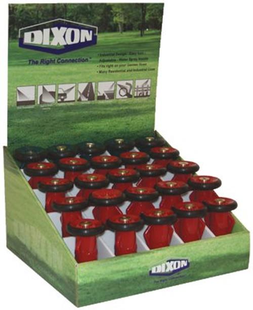 238-FNB75GHT-GD | Dixon Valve Polycarbonate Fire Hose Nozzles
