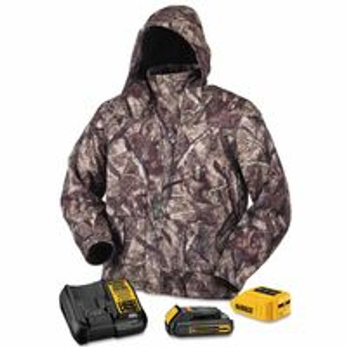 115-DCHJ062C1-2XL | DeWalt 20V/12V MAX* Lithium-Ion Soft Shell Heated Jacket Kit
