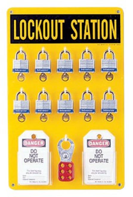 262-65680 | Brady Ten Lock Stations