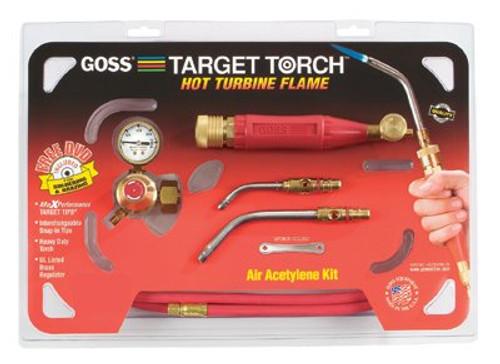 328-KX-4B | Goss Target Air-Acetylene Torch Outfits