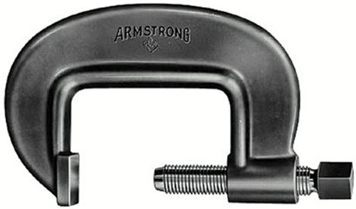 069-78-081 | Armstrong Tools Full-Length Screw Heavy Duty C-Clamps