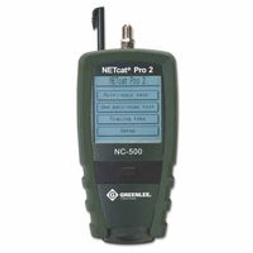 332-NC-500 | Greenlee Data and Video Wiring Testers