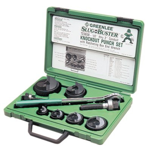 332-7238SB | Greenlee Slug-Buster Knockout Kits