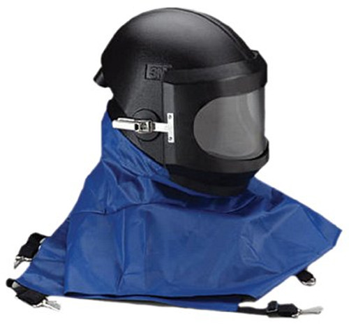 142-W-8100B | 3M Personal Safety Division Whitecap Abrasive Blasting Helmets