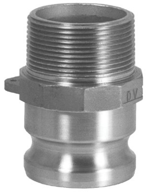 238-400-F-SS | Dixon Valve Andrews/Boss-Lock Type F Cam and Groove Adapters