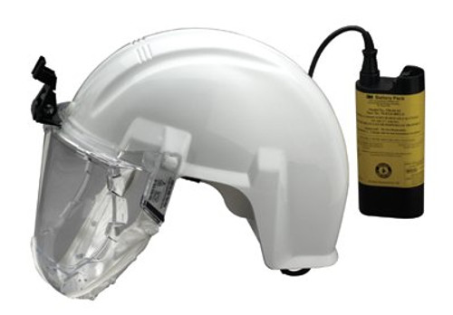142-AS-600LBC | 3M Personal Safety Division Airstream High Efficiency Mining Headgear-Mounted Systems