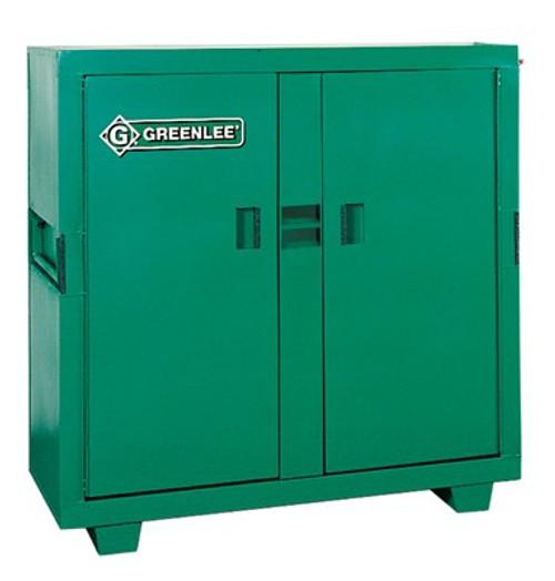 332-5660L | Greenlee Double Door Utility Cabinet w/Lock Protectors