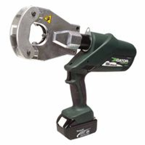 332-EK06FTL11 | Greenlee Gator Battery-Powered Quad-Point Flip Top Crimping Tool