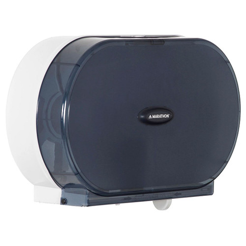 MAR961751 | Marathon Jumbo Bath Tissue Dispenser, 6,000 Sheet Capacity (Smoke)  - DISCONTINUED
