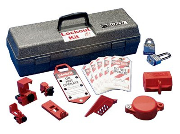 262-65289 | Brady Lockout Tool Boxes with Components