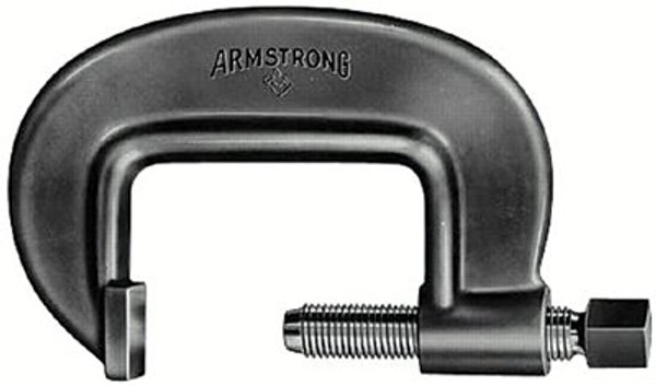 069-78-051 | Armstrong Tools Full-Length Screw Heavy Duty C-Clamps