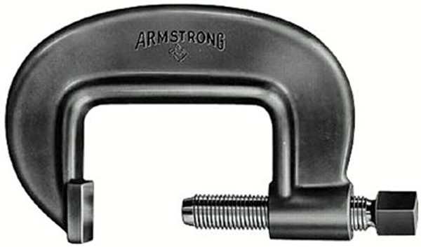 069-78-091 | Armstrong Tools Full-Length Screw Heavy Duty C-Clamps