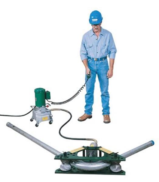 332-777E975   Greenlee Hydraulic Rigid Conduit Benders
