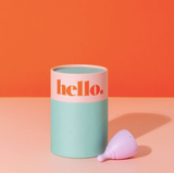 hello. Menstrual Cup XS